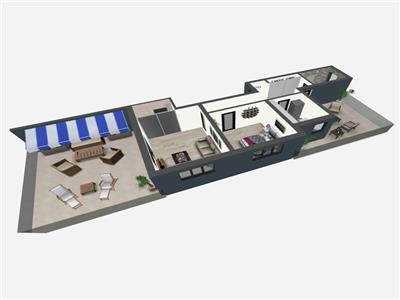 Apartament tip penthouse -zona Bucium - Belaria ! Finalizat!